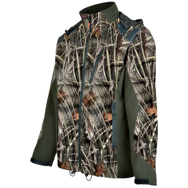 TREESCO JACHETA SOFTSHELL IMPERMEABILA GHOSTCAMO WET MAR.M