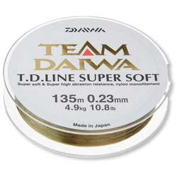 XX FIR DAIWA TD SUPER SOFT CLEAR 023MM/4,9KG/270M