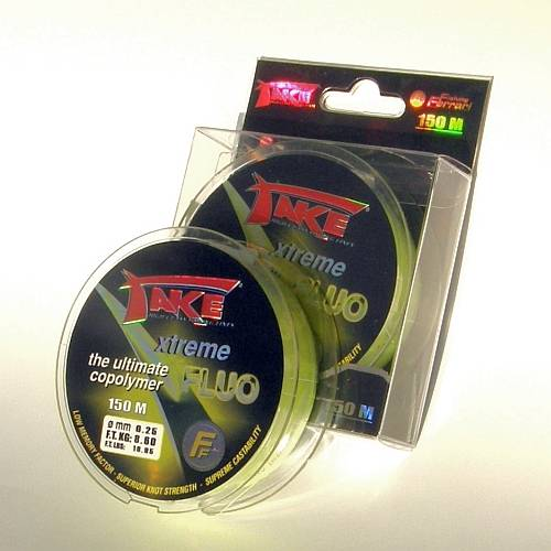 LINEAEFFE FIR MONOFILAMENT TAKE XTREME FLUO 018MM/4,3KG