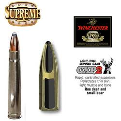 WINCHESTER CARTUS.7X65R.SUPREME NOSLER PARTITION.11,34G