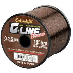 GAMAKATSU FIR G-LINE ELEMENT DARK BROWN 024MM.4,10KG.2270M