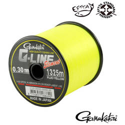 GAMAKATSU FIR G-LINE ELEMENT YELLOW 030MM.6,50KG.1325M