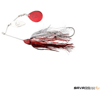 SAVAGE GEAR SPINNERBAIT NR.4/42G RED SILVER