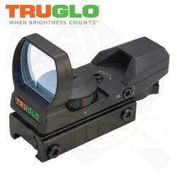 XX RED DOT SIGHT TRUGLO MULTI RETICLE