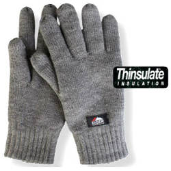 MANUSI TRICOTATE GRI THINSULATE 3M MAR.XL