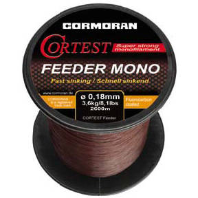 CORMORAN FIR CORTEST FEEDER S 025MM/6,3KG/1400M