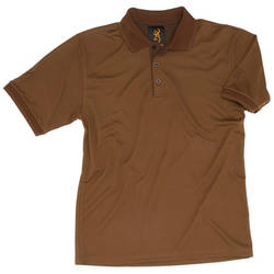 BROWNING TRICOU POLO OLIVE SAVANNAH RIPSTOP .2XL