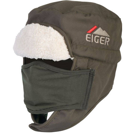 EIGER POLAR HAT GREEN S/M