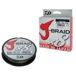 J-BRAID X8 VERDE 013MM/8KG/150M