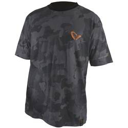 EIGER XX TRICOU SAVAGE BLACK TEE CAMO MAR.XL