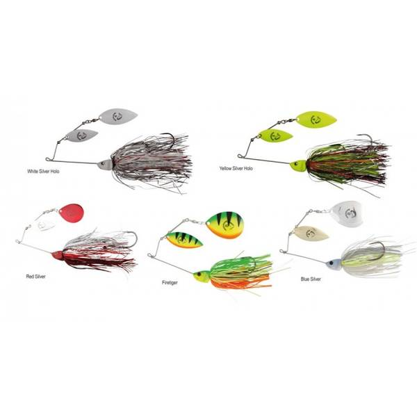 SAVAGE GEAR SPINNERBAIT  DA BUSH NR.3/32G YELLOW SILVER