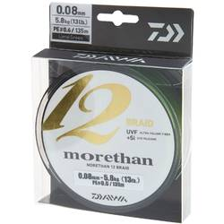 DAIWA MORETHAN 12BRAID 010MM/7,3KG/135M VERDE