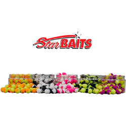 SENSAS XX POP-UP STARBAITS FLUORO LITE YEL/PU D=14MM/60G