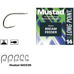 MUSTAD CIRLIG NICHEL,LONG POINT AS10 .