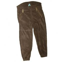 PANTALON FLEECE VERDE MAR:XXXL