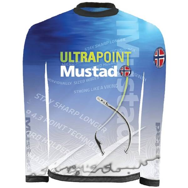 MUSTAD TRICOU TOURNAMENT MANECA LUNGA ALBASTRU MAR.2XL
