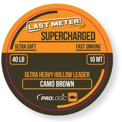 XX LEADER TEXTIL PROLOGIC SUPERCHARGED CAMO BROWN 40LBS/10M