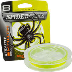 SPIDERWIRE TEXTIL STEALTH 8 GALBEN 020MM 20,0KG/150M