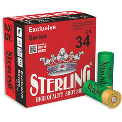 STERLING CARTUS EXCLUSIVE CAL.12/34G/4,0MM(1/0)