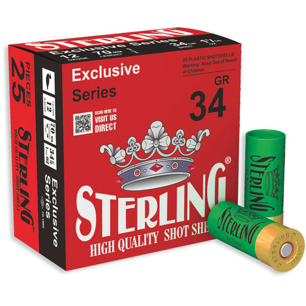 STERLING CARTUS EXCLUSIVE CAL.12/34G/4,5MM(4/0)