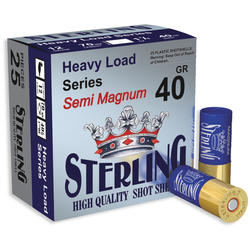 STERLING CARTUS SEMI MAGNUM CAL.12/40G/3,5MM(2)