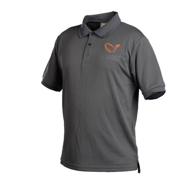 SAVAGE GEAR TRICOU SIMPLY SAVAGE POLO MAR.M