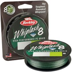 BERKLEY TEXTIL WHIPLASH 8 GREEN 028MM/ KG/150M