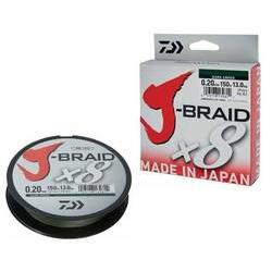 DAIWA J-BRAID X8 VERDE 020MM/13KG/150M