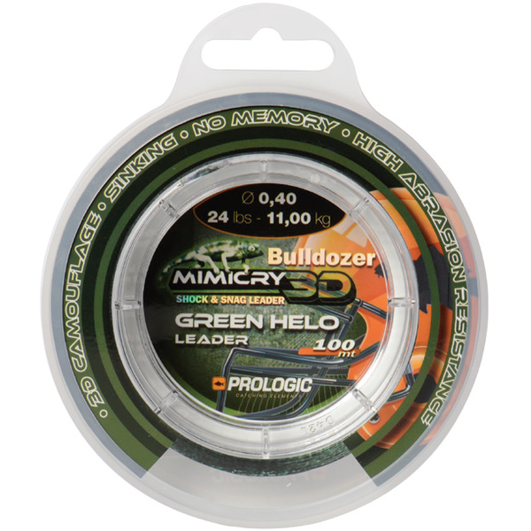 PROLOGIC LEADER  MIMICRY GREEN HELO 040MM/11KG/100M
