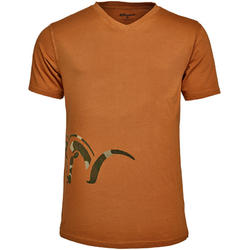 TRICOU LOGO V ORANGE MAR.2XL