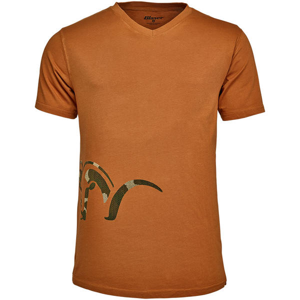 BLASER TRICOU  LOGO V ORANGE MAR.S