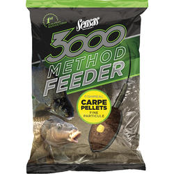 SENSAS NADA 3000 METHOD CARP PELLETS 1KG