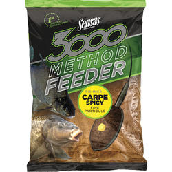 SENSAS NADA 3000 METHOD CARP SPICY 1KG