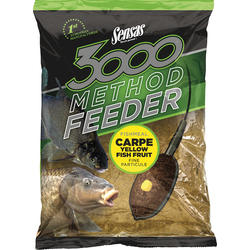 SENSAS NADA 3000 METHOD CARP YELLOW 1KG