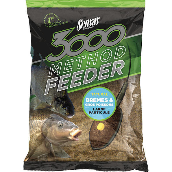 SENSAS NADA 3000 METHOD BREAM & BIG FISH 1KG