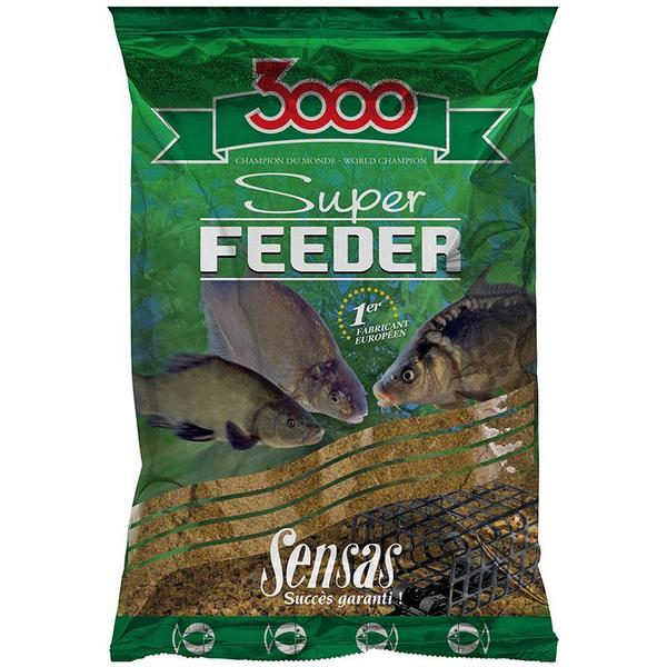 SENSAS NADA 3000 SUPER FEEDER LAKE BLACK 1KG