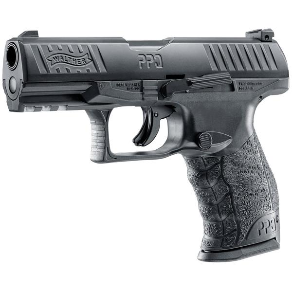 pistol UMAREX PISTOL CO2 AIRSOFT WALTHER PPQ M2 T4E BLACK CAL.43 8BB 5J