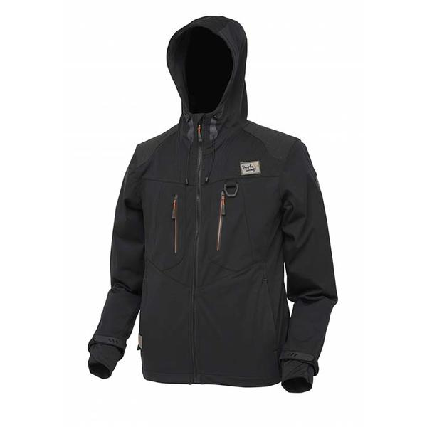 SAVAGE GEAR JACHETA  SOFTSHELL NEGRU MAR.M