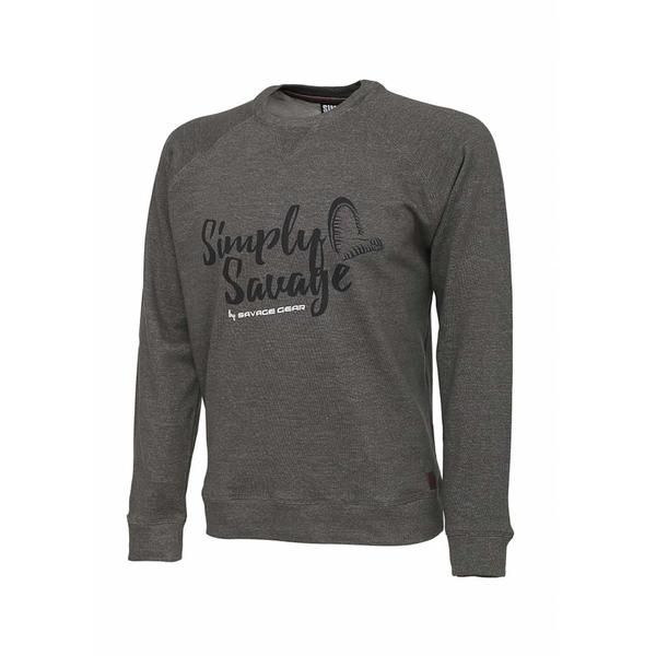 SAVAGE GEAR TRICOU SIMPLY SAVAGE GREY MAR.S