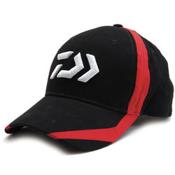 DAIWA BLACK/RED FLASH D LOGO