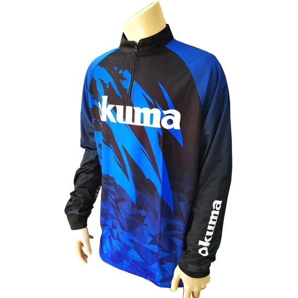 OKUMA BLUZA  TOURNAMENT POLO MANECA LUNGA MAR.3XL
