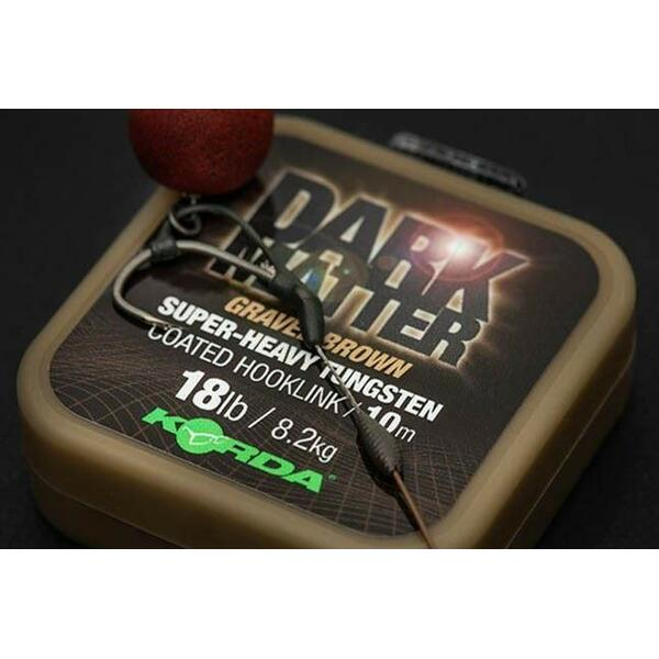 KORDA FIR DARK MATTER TUNGSTEN COATED VERDE 18LBS/10M