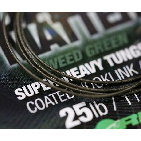 KORDA FIR DARK MATTER TUNGSTEN COATED VERDE 25LBS/10M