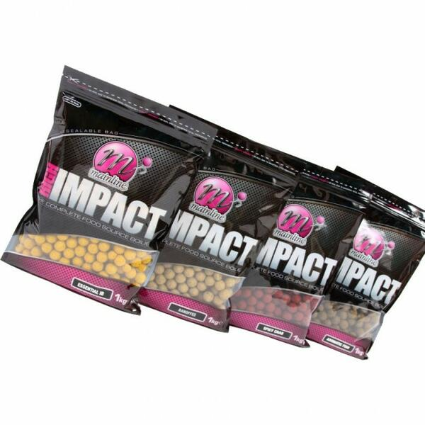 MAINLINE BOILIES HIGH IMPACT DIAMOND WHITES 15MM 3KG