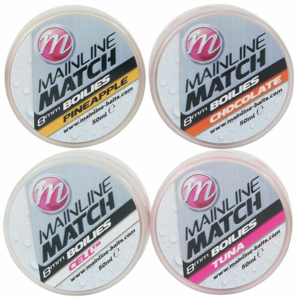 MAINLINE BOILIES MATCH WHITE CELL.TM 8MM