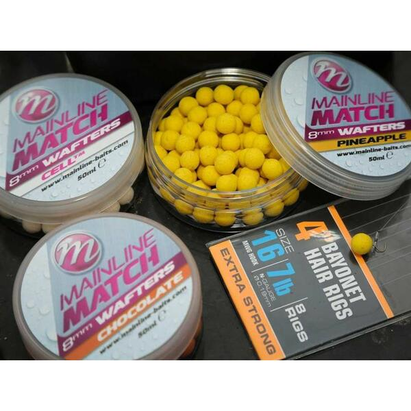 MAINLINE WAFTERS MATCH DUMBELL PINK TUNA 8MM