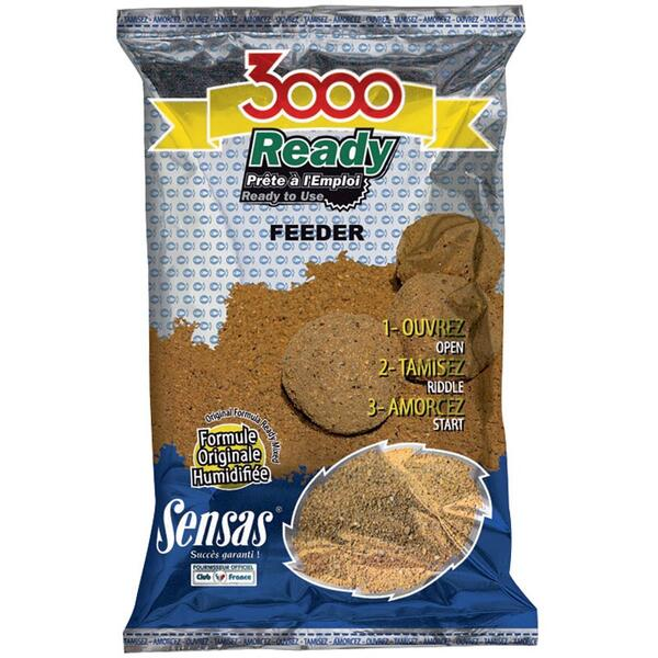 NADA SENSAS 3000 READY FEEDER 1,25KG