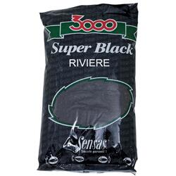 SENSAS NADA 3000 SUPER BLACK RIVIERE 1KG