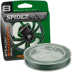 SPIDERWIRE TEXTIL STEALTH 8 VERDE 008MM 7.3KG/150M