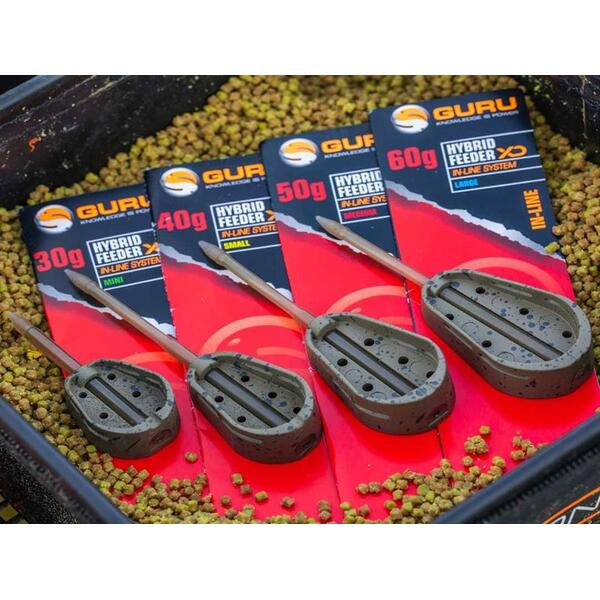 GURU METHOD FEEDER EXTRA DISTANCE HYBRID 30G